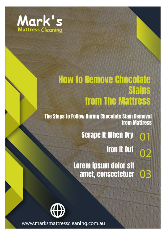 Remove Chocolate Stains From The Mattress