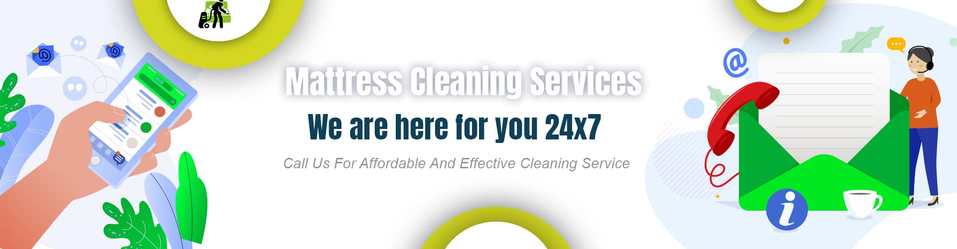 Contact Us For Mattress Cleaning Services